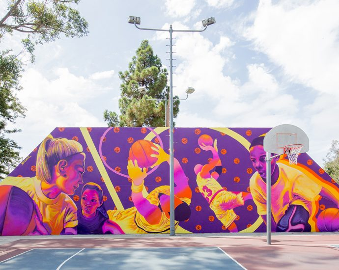 mural by bodeck hernandez for pow wow long beach 2019